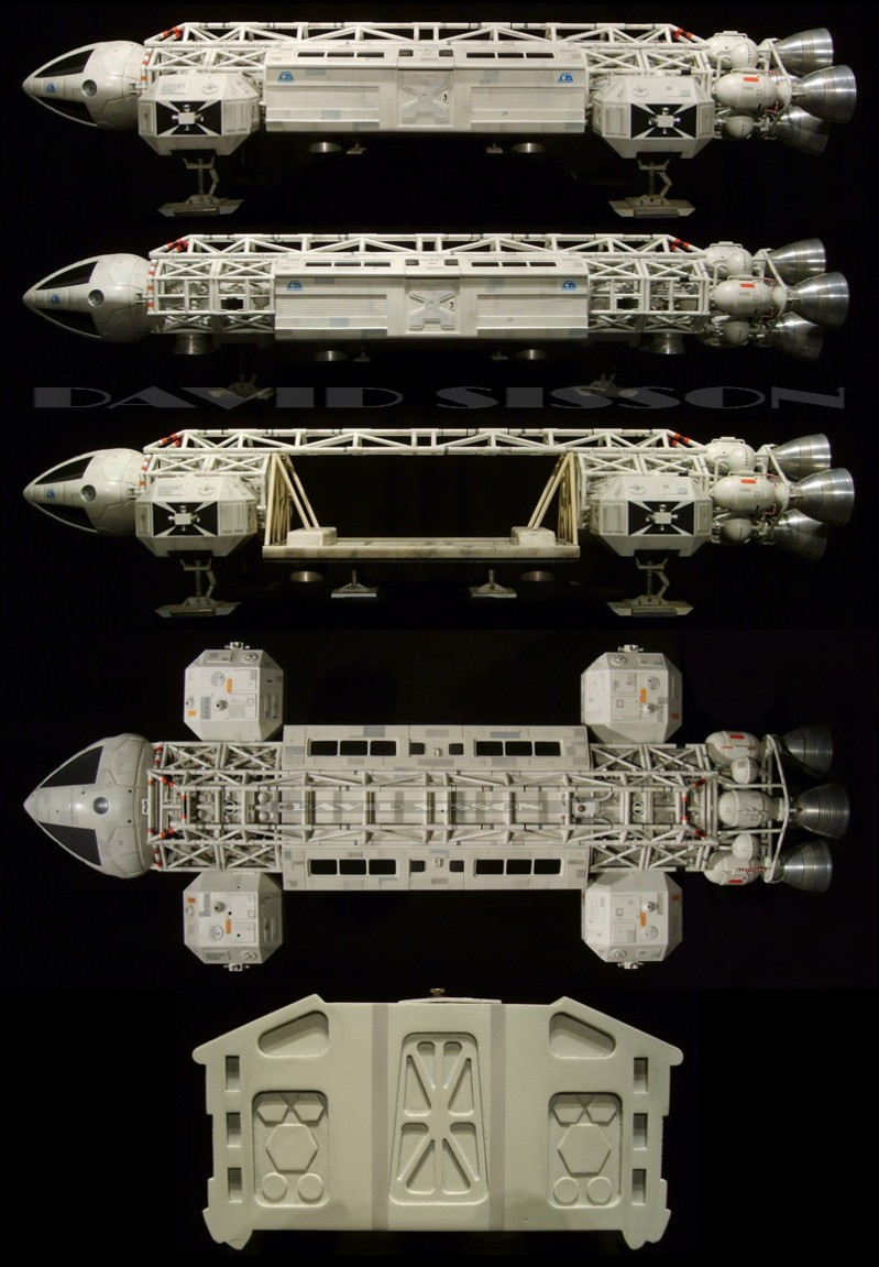 Eagle One from Space 1999 as it is Today